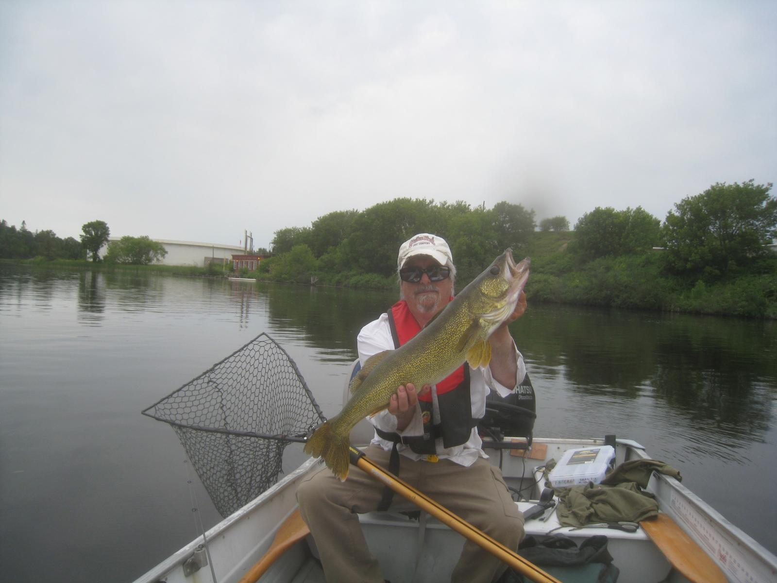 Trophy Kam River Walleye July 21