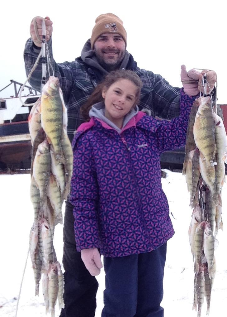 January 26, 2018.  Black Bay Limits with my Fishergirl!